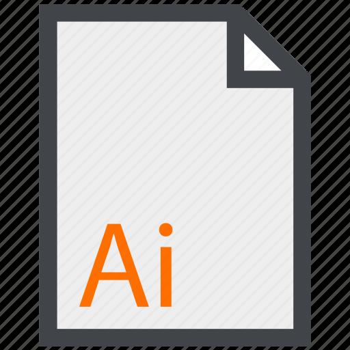 design, file, illustrator icon