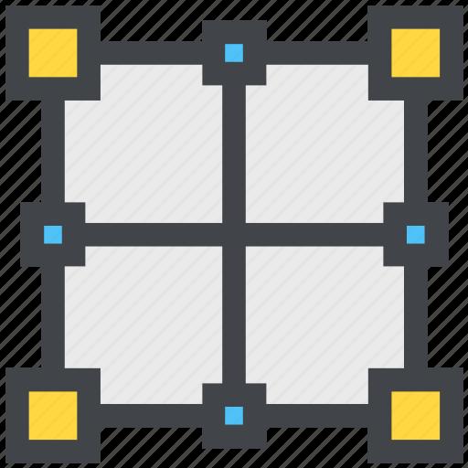 design, graph, grid icon