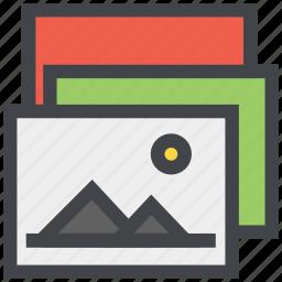 design, images, photos icon
