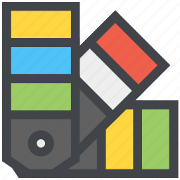 colors, design, pantone, swatch icon