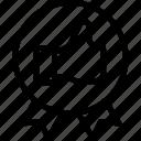 acceptation, badge, congratulate, critique, design, process icon