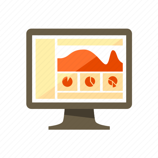 admin, chart, dashboard, design, layout, page, web icon