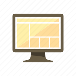 design, full width, layout, liquid, page, sidebar, web icon