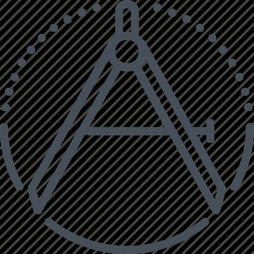 blueprint, design, draw, graphic, precision icon