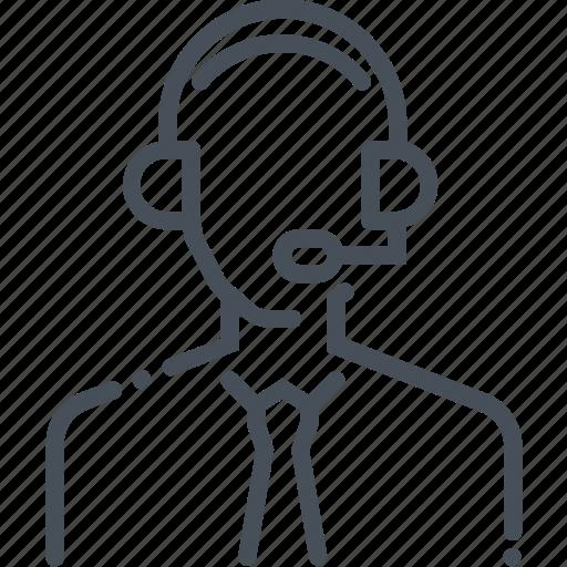 customer service, representative icon