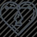 application, chart, frame, heart, layout, menu
