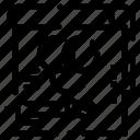 card, color, paper, pen, rgb icon