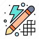 creative, design, innovation, thinking icon