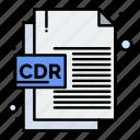 cdr, corel, file, format