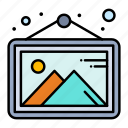 frame, gallery, image, photo icon