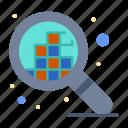design, grid, pixels