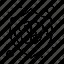 brain, creative, design, idea, shield icon