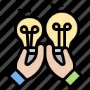 choice, compare, comparison, selection, versus icon
