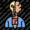 brain, creative, design, idea, innovation icon