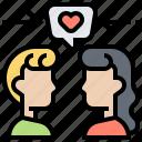empathize, generous, kindness, sympathy, understand icon