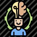 creativity, design, ideation, innovation, intelligence icon