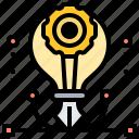 creativity, design, innovation, model, prototype icon