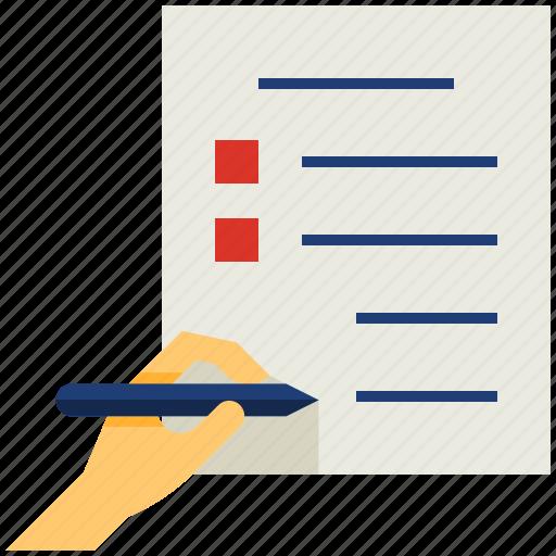 Define, defining, demarcate, determine, document, goal, write icon - Download on Iconfinder