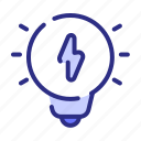idea, light, bulb, energy