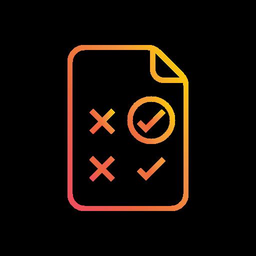 ab testing, comparison, correction, feedback, test, ui icon