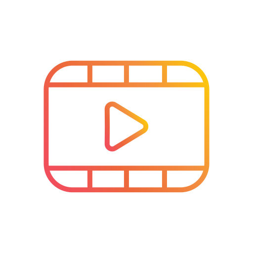 Interface, video, player, media, multimedia icon - Free download