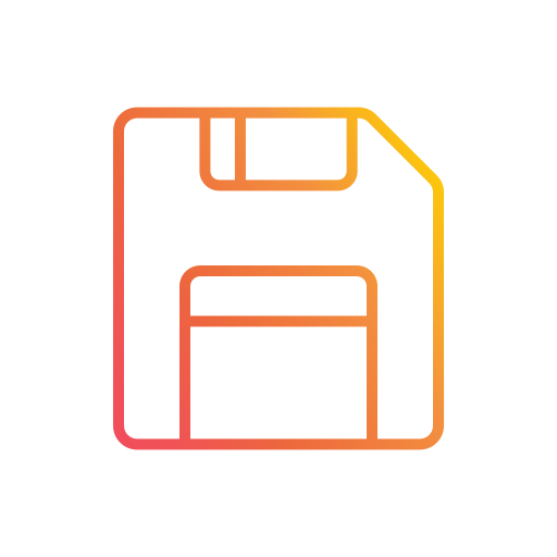 disk, diskette, floppy, memory, save, storage, ui icon