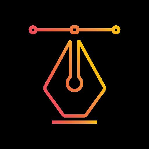 Editable, graphic, illustration, path, pen, tool, vector design icon - Free download