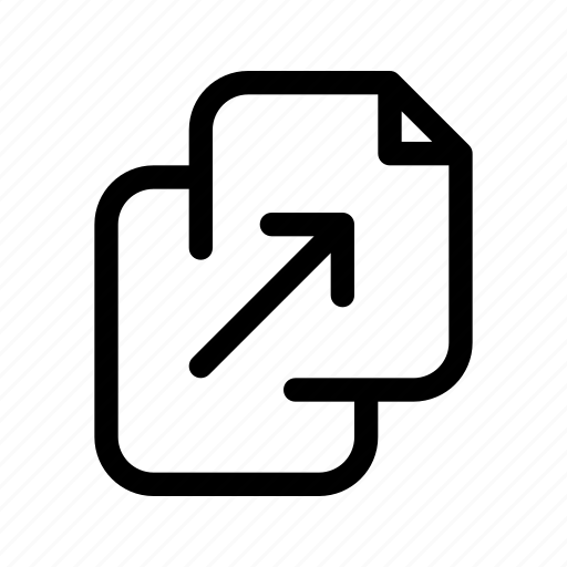 document, duplicate, file, files, page, paper icon