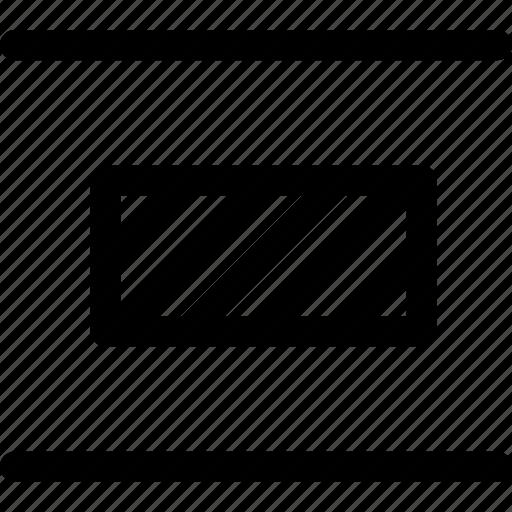 align, arrange, design, distribute, elements, objects, vertical icon