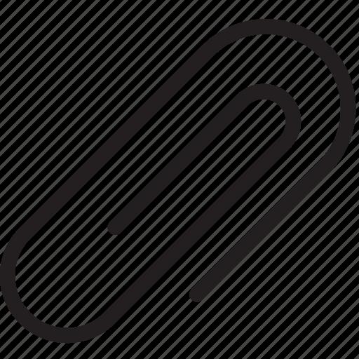 attach, attachment, clips, tool icon