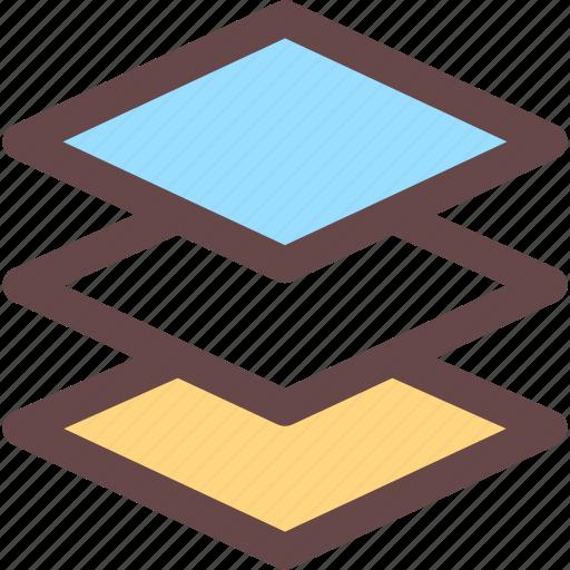 delay, fetch, layer, save icon, watch icon icon