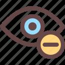 minus, delete, minus icon, remove icon, zoom out icon
