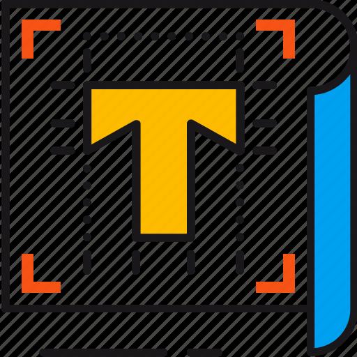 creative, design, draw, font, graphic, shape, text icon
