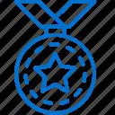 achievement, awards, badge, medal, prize, success, trophy icon