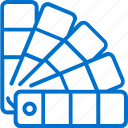 card, chart, color, design, palette, pantone, sample icon