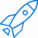 business, launch, product, rocket, start, startup icon