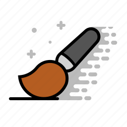 art, artist, brush, design, paint, tools icon