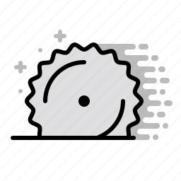 cut, cutter, design, machine, saw, tools icon
