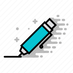 design, pen, tools, writer icon