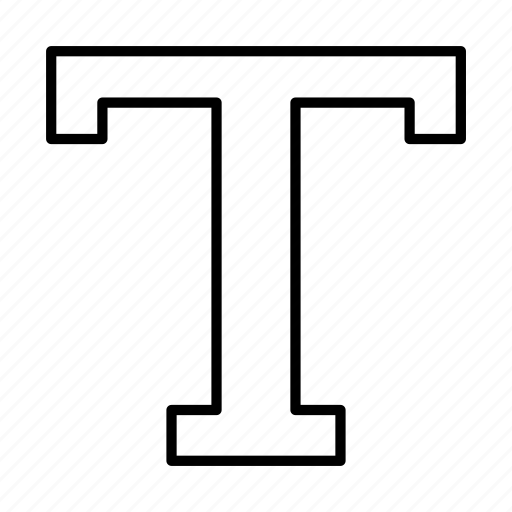 designer, letters, text, words icon