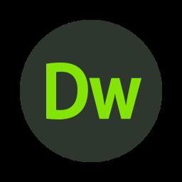 adobe, code, coding, css, dreamweaver, html icon
