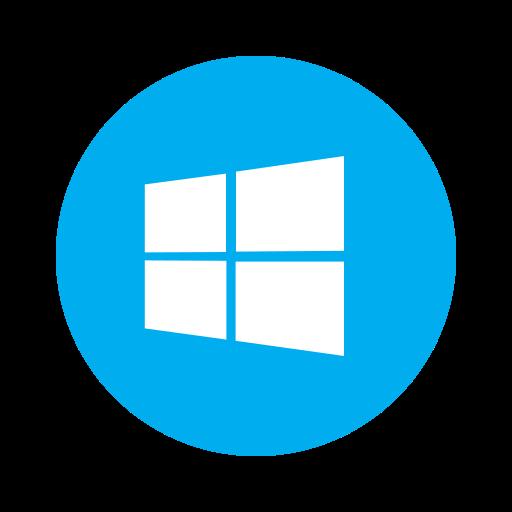 metro, microsoft, os, pc, system, windows, windows10 icon