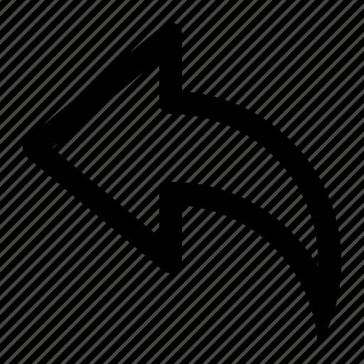 arrow, back, direction, fast, forward, next, undo icon