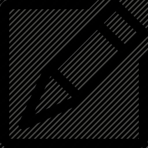 design, document, edit, pen, pencil icon