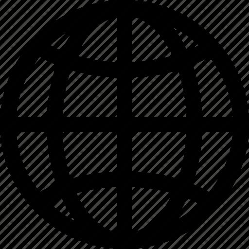 communication, connection, globe, internet, network, seo, web icon