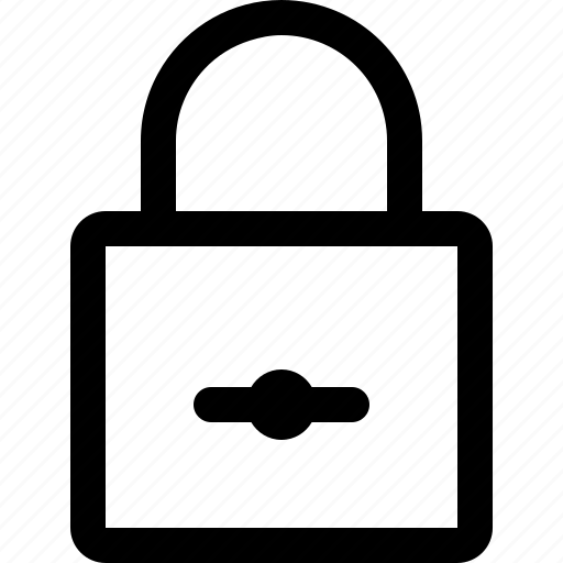 lock, locked, password, private, secure, security, unlock icon