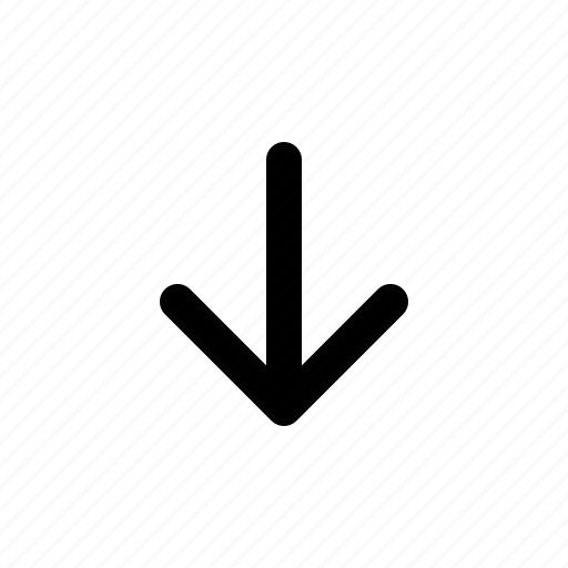 arrow, down, left, long, right, up icon