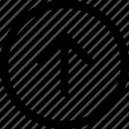 arrow, circular, down, left, long, right, up icon