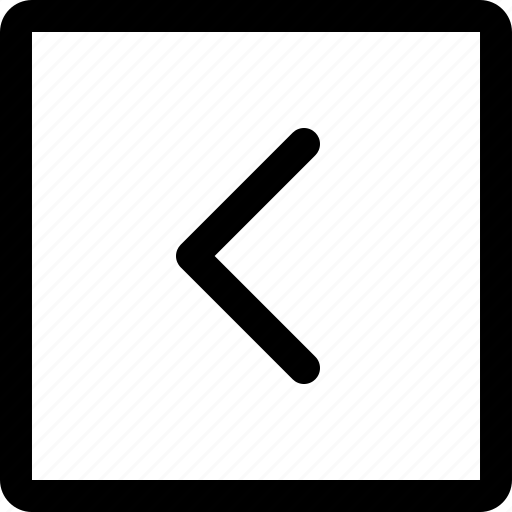arrow, down, left, right, short, square, up icon