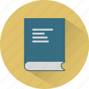 book, bookmark, education, knowledge, read, school, study icon